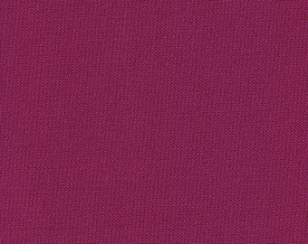 """60"""" Wide Berry Ponte de Roma Double Knit by the yard"""