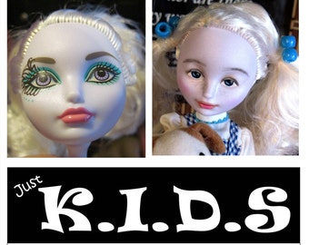 Ever After High Transformed, bratz transformation, doll changed, makeover dolls