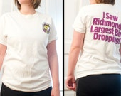 90s Duck Race shirt - Richmonds Largest Bird Dropping - Vintage James River tshirt