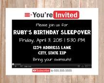 YouTube Invitation