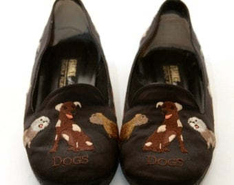 Frankie and Baby Beverly Feldman Dogs Shoes SIZE 8