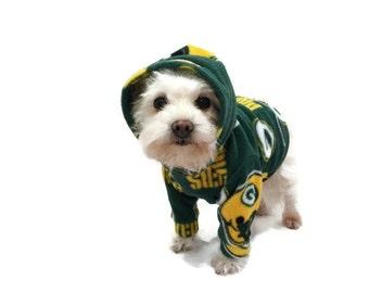 NFL Team Fleece Dog Hoodies-Fleece Dog Hoodie-Custom Dog Clothes-Dog Shirts-Dog Clothing-Dog Apparel-Pet Clothes-Shirts for Dogs-Football