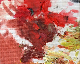 Abstract Art-Red Art-Modern Art-Origianl Art