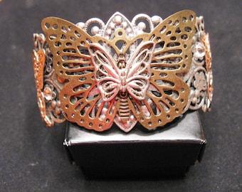 Butterfly Filigree Bracelet