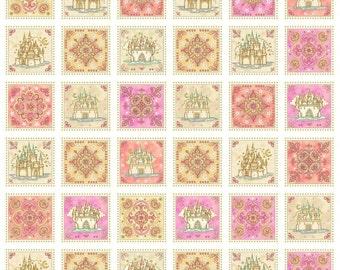 Quilting Treasures - Royal Princess by Dan Morris - Multi Castle & Medallion Patch