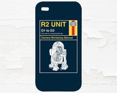 R2D2 Cell Phone Case - iPhone Case - iPod Touch 5 Case - Samsung Galaxy Case