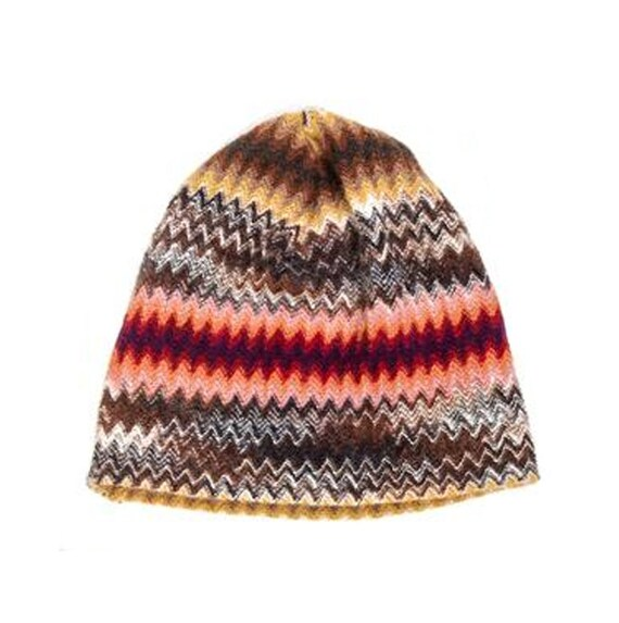 Knit Skull Cap Pattern : Missoni Knit Skull Cap Missoni Hat New Old by MadgesHatboxVintage