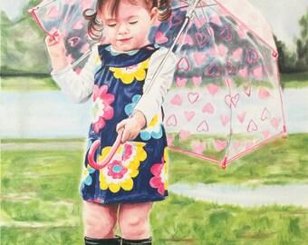 DVD/CD - Let it Rain - PanPastel & Colored Pencil Workshop