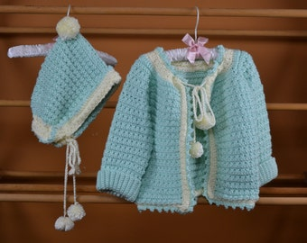Mint Green Baby Sweater