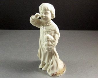 Lenox China Jewels Little Dreamer Girl Figurine as New