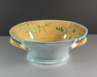 Tracy Porter Laurel Leaf 2 Handled Serving Bowl