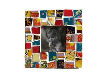 Patchwork China Mosaic Photo Frame