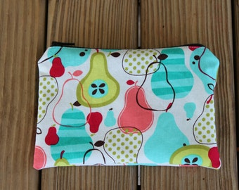 Reusable Snack Bag, Pears - ZIPPER Snack Bag