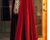 """The """"Scarlet Witch"""" cape"""
