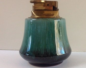 Vintage Blue Mountain Pottery Table lighter