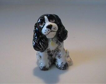 Vintage 1957 miniature Hagen Renaker Butch the dog with original label