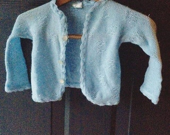Vintage cardigan sweater 0-6 months