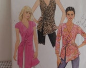 Butterick 5185--Contemporary WRAP TOPS TUNICS-Sizes 16-22