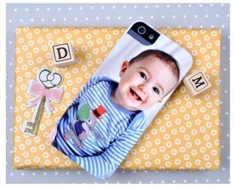 iPhone and Samsung Galaxy personalised photo case