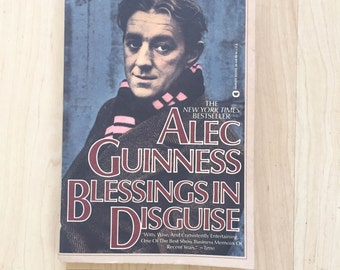 Blessings in Disguise by Alec Guinness (1987, Paperback)