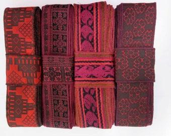 Red Borders, Sari Fabrics SR440