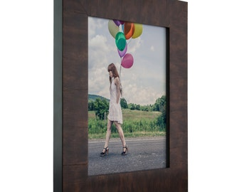"Winston 2"" Walnut Veneer Solid Wood Picture Frame (104580406)"