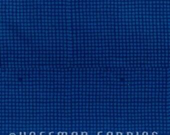 Indah Batiks - Raindrops in Prussian Blue - Hoffman Fabrics - 101-169 - 1/2 yd