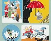 Moomin stickers - 3 ark