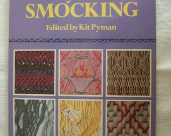 """Vintage Book """"Every Kind of Smocking"""" Edited by Kit Pyman (1990)"""