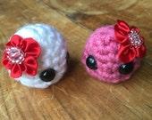 Red Flower valentine pocket tidbits (limited)