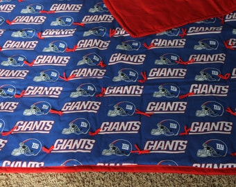NFL New York Giants baby quilt
