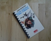 Handmade Alfred Hitchcock's The Birds 1985 Movie Re-purposed VHS Cover Notebook Journal