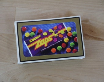 Vintage Deck of Gemaco Chewy Zaps Playing Cards