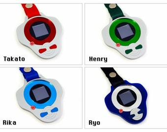Clearance - Digimon Tamers Lasercut Deluxe Necklaces