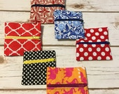 Small  zipper pouches