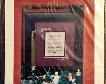 "Cross Stitch Kit: ""Hark"", Shepherd's Bush Printworks."