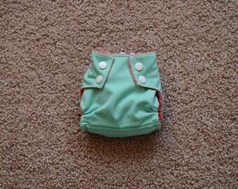 Newborn Girl Cloth Diaper