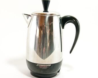 Vintage Percolator, Farberware Superfast 8 Cup Percolator