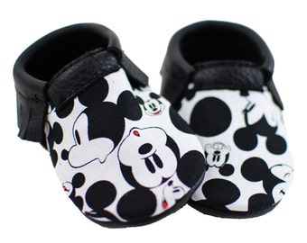 Mickey Mouse Moccasins