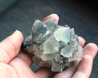 Fluorite Raw Cubic #45544