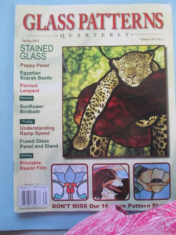 Glass Pattern Quarterly Magazine Stained Glass Patterns