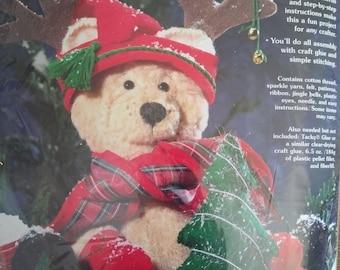 Teddy Bear and Christmas Tree Kit