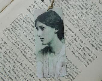 Bookmark Virginia Woolf bookmark metal bookmark