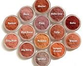 SALE -Refill Baggies Vegan Mineral Makeup - Blushes and Bronzers-