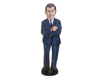 Rod SerlingHand Painted 2D Art Figurine