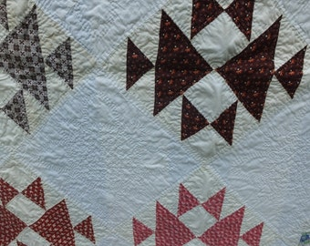 Triangle Weave Quilt