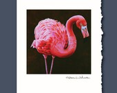Passionately Pink Greeting Card by Alicia Wishart
