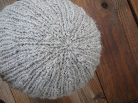 Easy Knitting Pattern For Toque : Sydney Hat Knitting Pattern, Easy Knit, Watch Cap Beanie Toque Toboggan Stock...