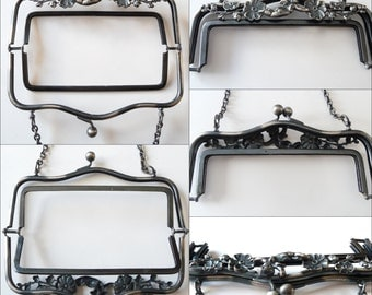 Vintage Metal Purse Frame Cherub Frame or Dolphin Frame - Your choice Purse Making Supply from TreasuresOfGrace