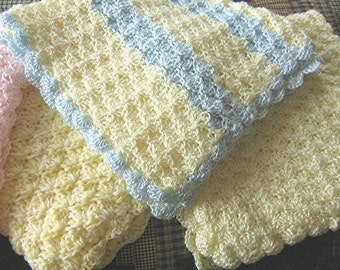 Soft baby blanket - 3 colors